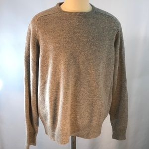 Men's J Crew Lambswool Gray Sweater XL